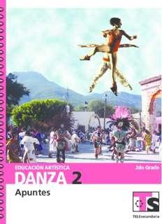 Educación Artística Danza II Segundo grado Telesecundaria Ciclo Escolar 2015-2016