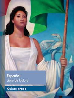 Libro de Texto Español libro de lectura Quinto Grado Ciclo Escolar 2016-2017