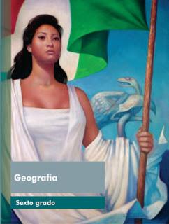 Libro de Texto Geografía  Sexto Grado Ciclo Escolar 2016-2017