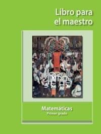 Matemáticas   libro para el maestro Primer grado 2019-2020
